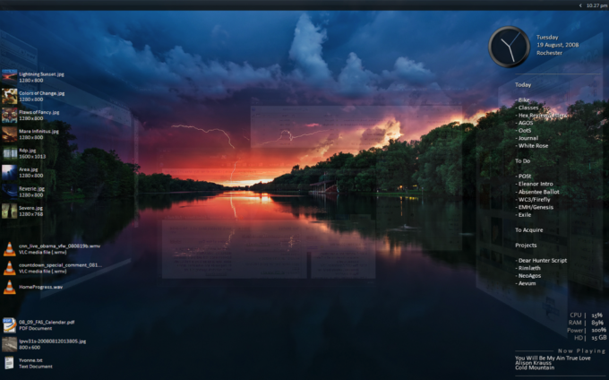 rainmeter, os customization